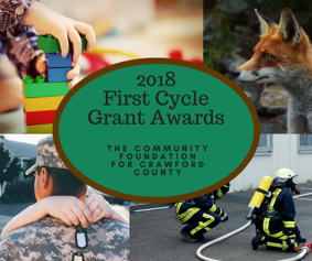 2018 First Cycle Grant Awards