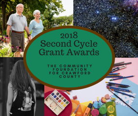 2018 Second Cycle Grant Awards