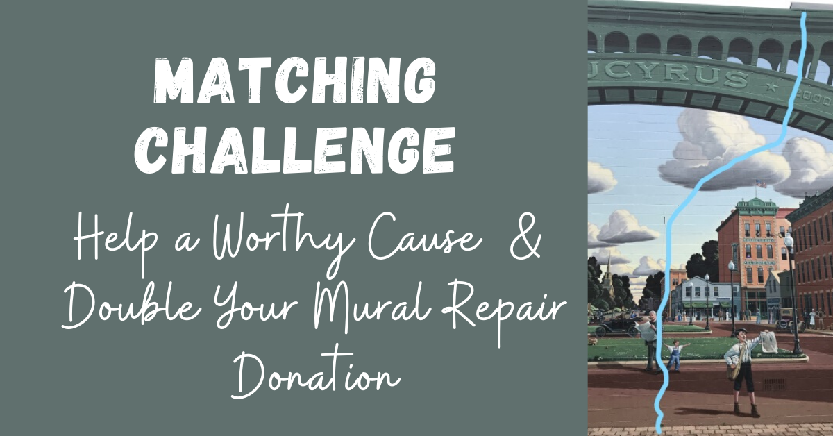 Matching Challenge - Double Your Mural Repair Donation 07-21-20