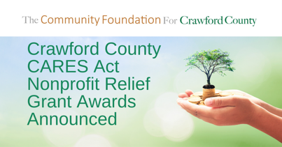 2020 Crawford County CARES Act Nonprofits Relief Grant Awards Announced Facebook Ad