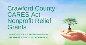 2020 Crawford County CARES Act Nonprofits Relief Grants Facebook Ad