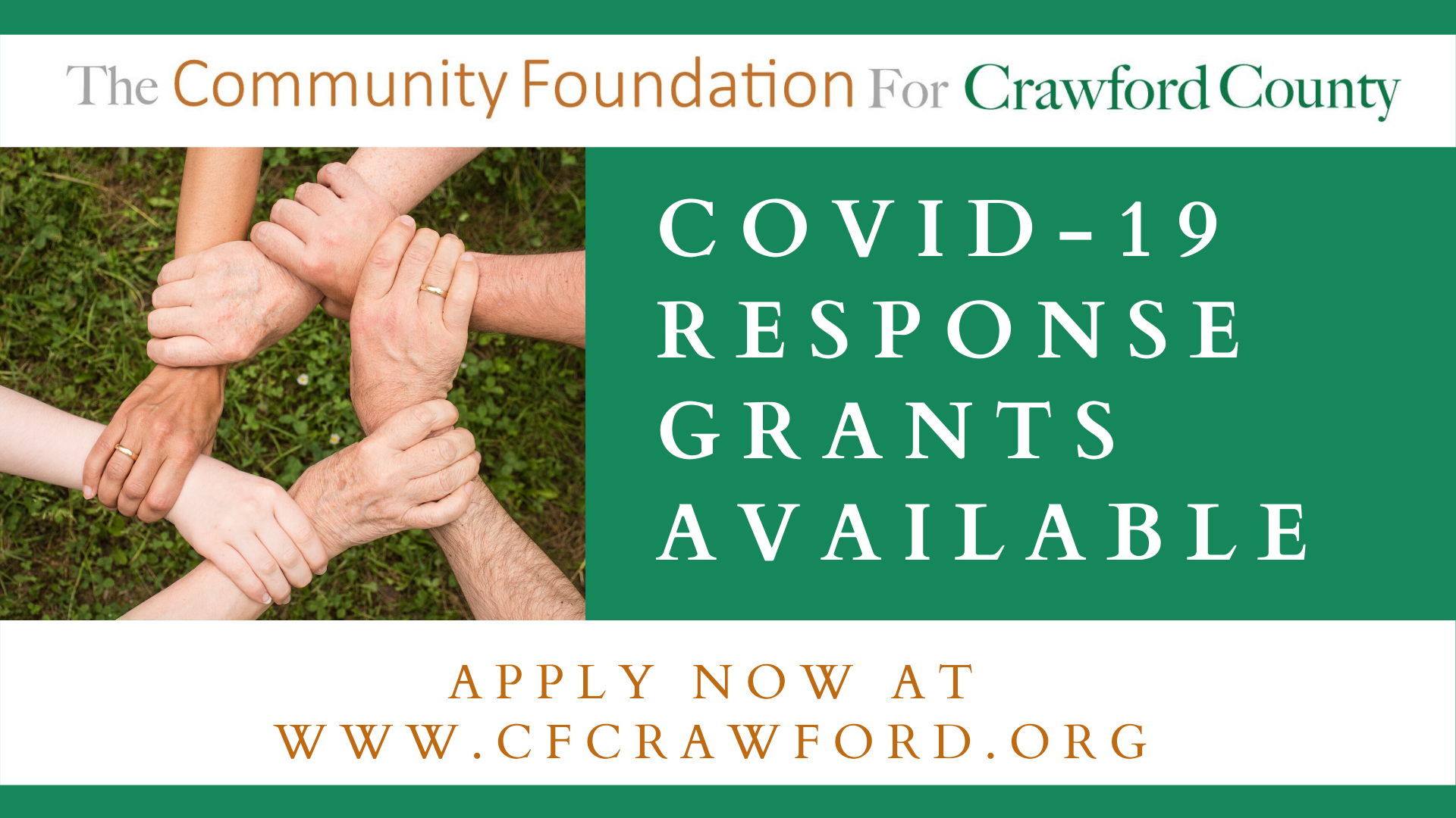 COVID-19 Response Grants Available 2020