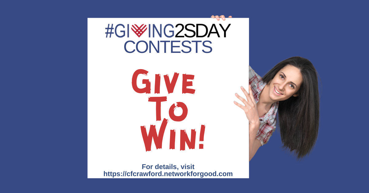 2020 #Giving2sday Contests 2nd Facebook Ad
