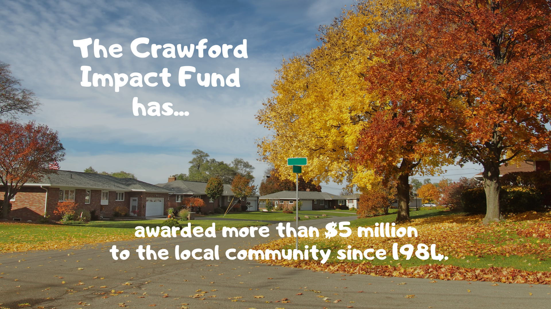 2020 #Giving2sday and the Crawford Impact Fund Facebook Ad