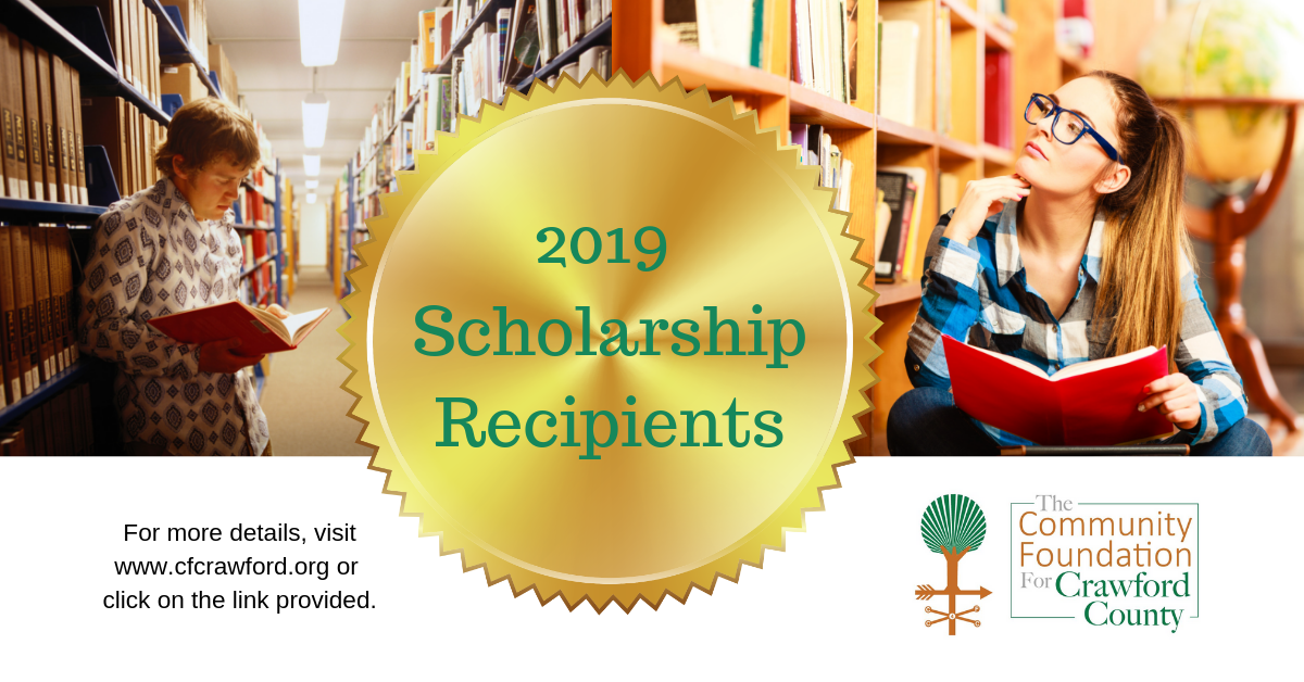 2019 Scholarship Recipients Announcement