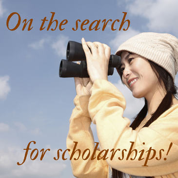On the search for scholarships! pic