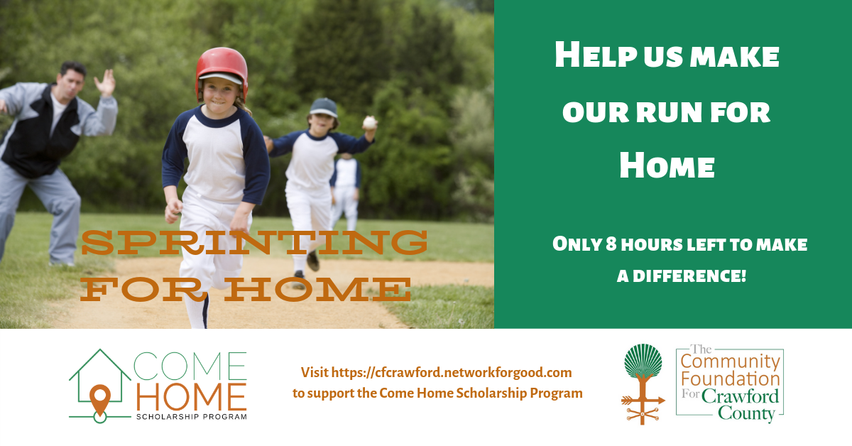 Come Home Scholarship Ad11-Tue4pm