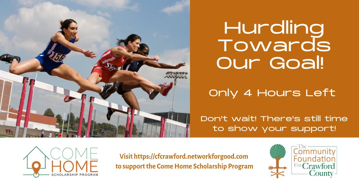 Come Home Scholarship Ad13-Tue8PM