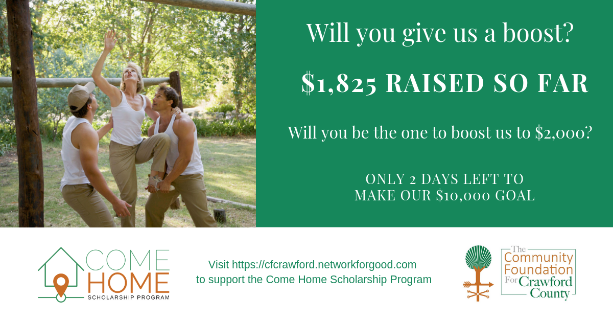 Come Home Scholarship Ad7-Mon
