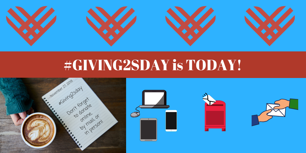 #Giving2sday 2018 is today!